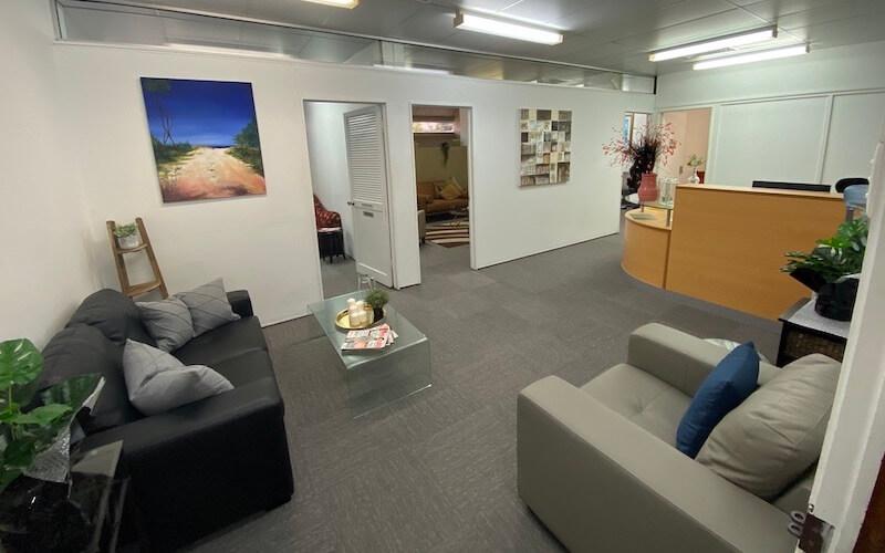 Crestpoint Wellbeing Centre Reception Area